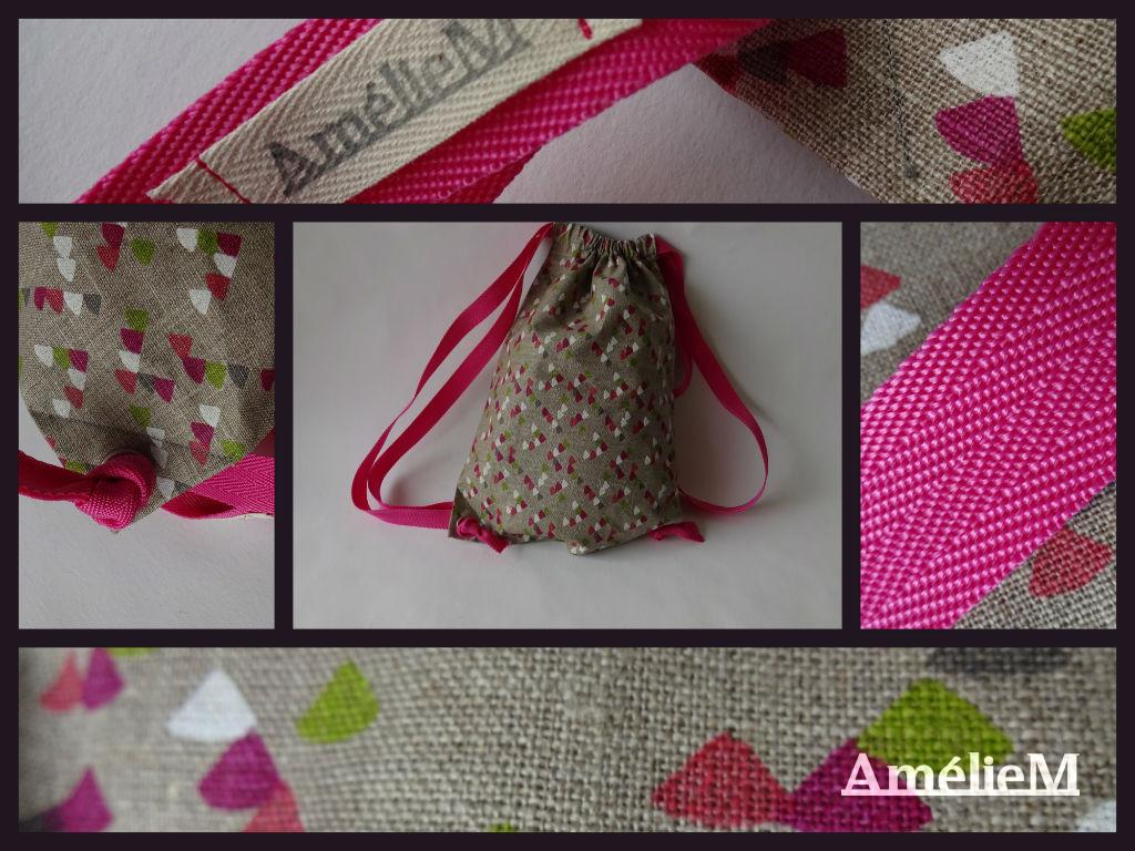 Un nouveau sac pochon aux couleurs du printemps